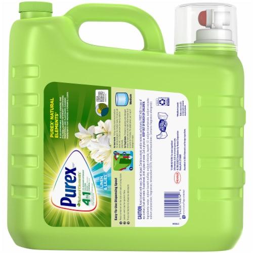 Purex Natural Elements Linen & Lilies Liquid Laundry Detergent Perspective: front