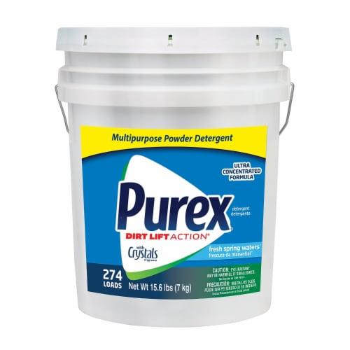 Purex Powder Laundry Detergent 15.60 lb.,Pail  06355 Perspective: front