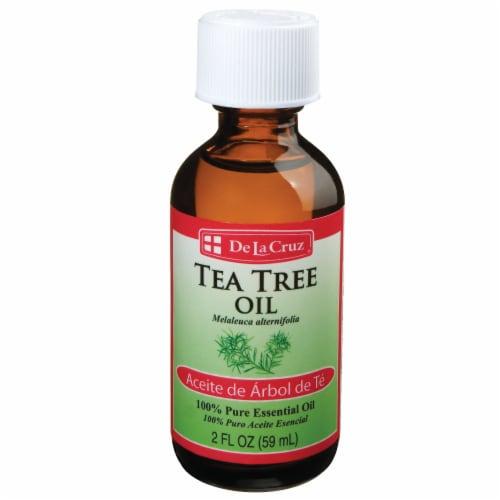 De La Cruz Tea Tree Oil Perspective: front