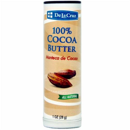 De La Cruz 100% Cocoa Butter Body Cream Perspective: front