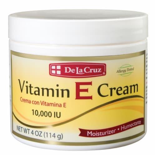 De La Cruz Vitamin E Cream Perspective: front
