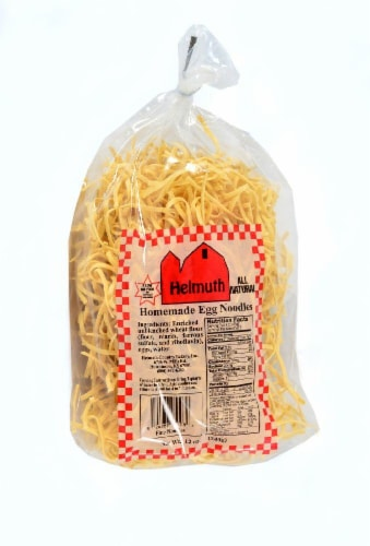 Helmuth Homemade Fine Egg Noodles Perspective: front