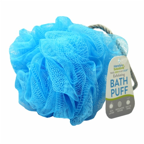 Handy Solutions Exfoliating Bath Puff Perspective: front