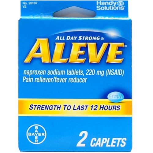 Smiths Food And Drug Aleve Naproxen Sodium Tablets 220mg 2 Ct