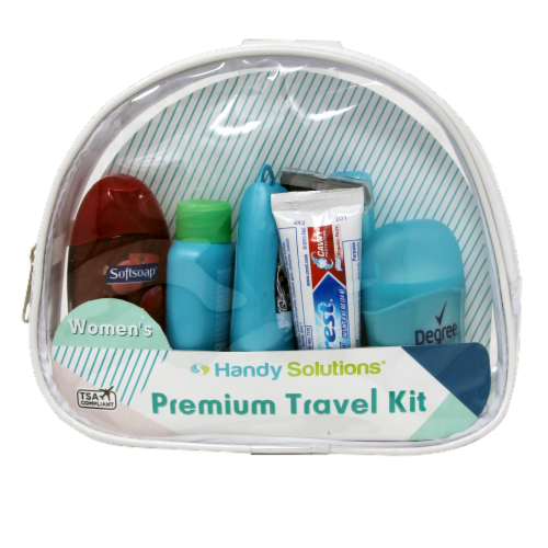 Handy Solutions Women's Premium Travel Kit Perspective: front