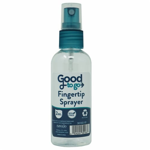 Good To Go Blue Travel Spray Bottle - Assorted Perspective: front