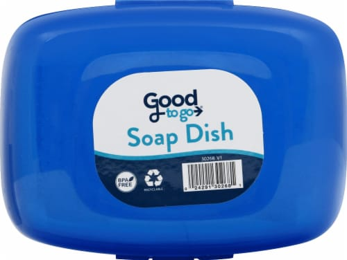 Good To Go Travel Soap Dish Perspective: front