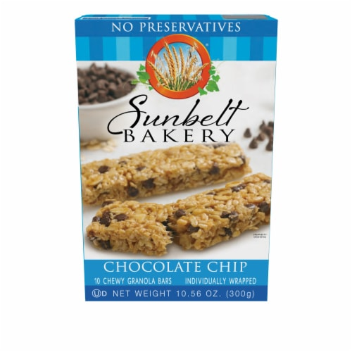 Sunbelt Bakery Chocolate Chip Chewy Granola Bars Perspective: front