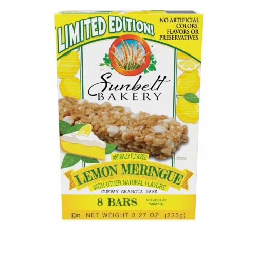 Sunbelt Bakery Natural Lemon Meringue Chewy Granola Bars Perspective: front