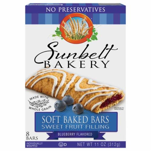 Sunbelt Bakery Blueberry Fruit & Grain Bars Perspective: front