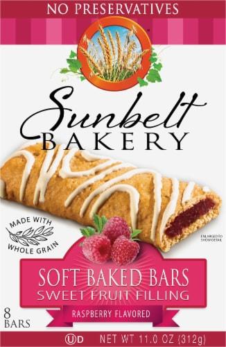 Sunbelt Bakery Raspberry Fruit & Grain Bars Perspective: front