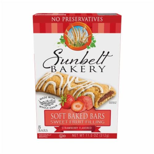 Sunbelt Bakery Strawberry Fruit & Grain Bars Perspective: front