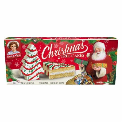 Copps Little Debbie Vanilla Christmas Tree Cakes