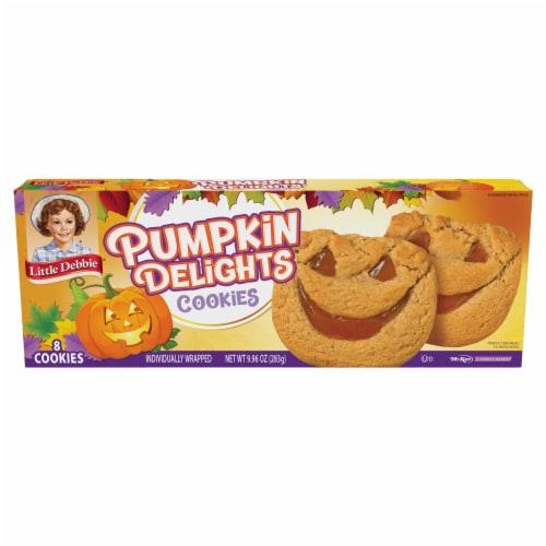 Little Debbie Pumpkin Delights Snack Cookies Perspective: front