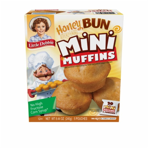 Little Debbie® Honey Bun Mini Muffins Perspective: front