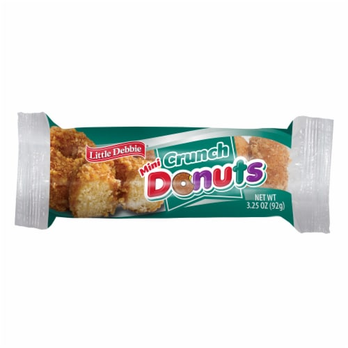 Little Debbie Crunch Donuts 6 Count Perspective: front
