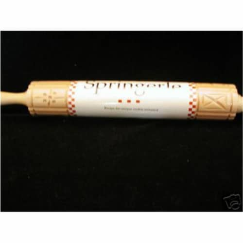 Bethany Housewares 465 Springerle Rolling Pin Perspective: front