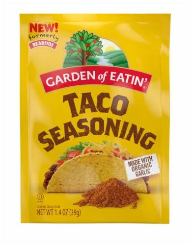 Bearitos Taco Seasoning Perspective: front