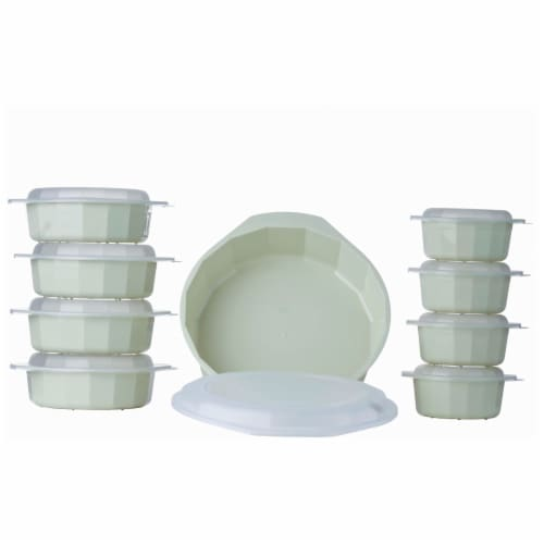 LaCuisine 18pc Microwave Cookware Set Perspective: front