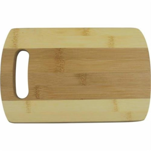 BamBoo Studio CTCBTT14 Bamboo Studio Bamboo Two-tone Cutting Board- Large Perspective: front