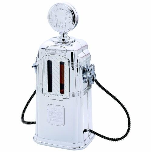 Wyndham House 1.9 Quart Gas Pump Beverage Dispenser Perspective: front