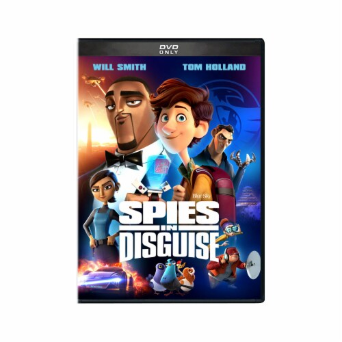Spies in Disguise (2020 - DVD) Perspective: front