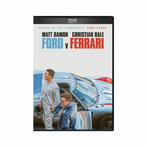 Ford v Ferrari (2019 - DVD) Available on 02/11/2020 Perspective: front