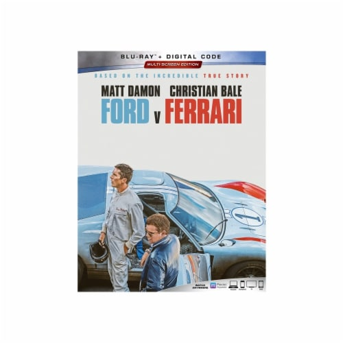 Ford v Ferrari (2019 - Blu-Ray/Digital Code) Perspective: front