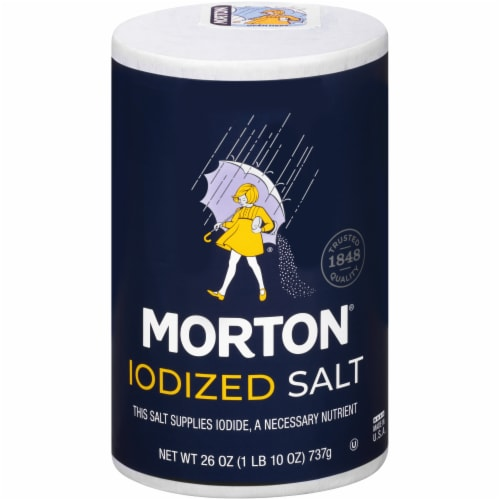 Morton Iodized Salt Perspective: front