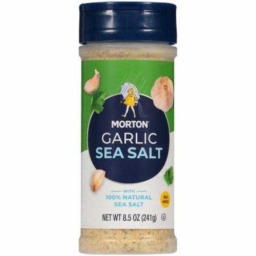 Morton Garlic Sea Salt Perspective: front