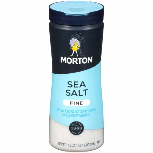 Morton Fine Sea Salt Perspective: front