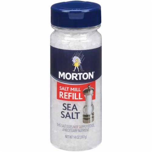 Morton Extra Coarse Sea Salt Perspective: front