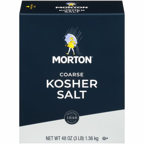 Morton Coarse Kosher Salt Perspective: front
