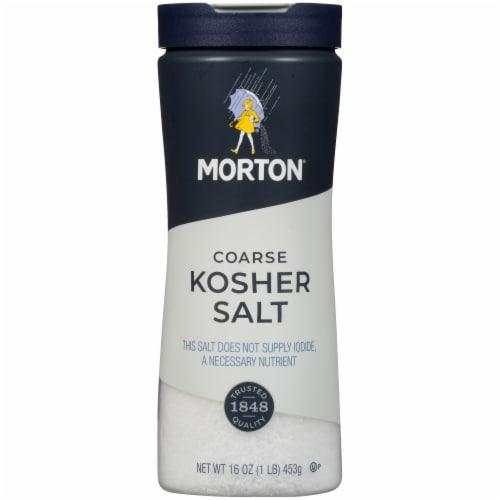 Morton Coarse Kosher Salt Perspective: front
