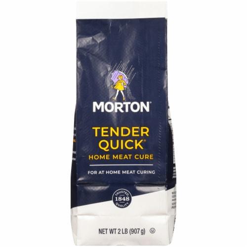 Morton Tender Quick Home Meat Cure Salt Perspective: front