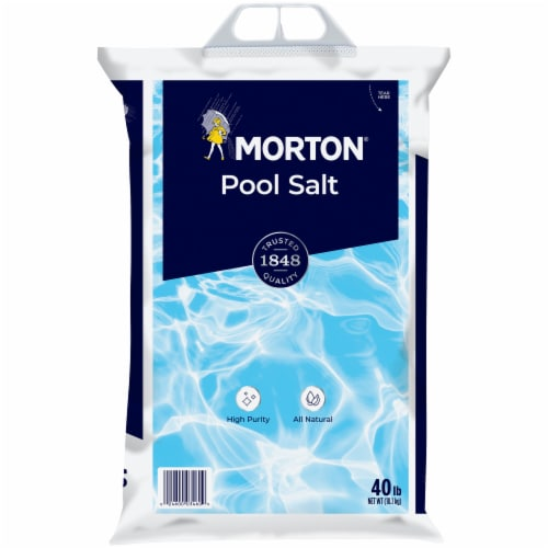 Morton Pool Salt Perspective: front