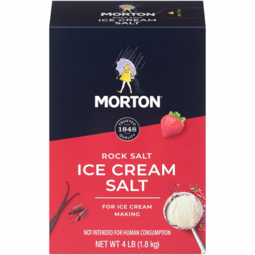 Morton Ice Cream Salt Perspective: front