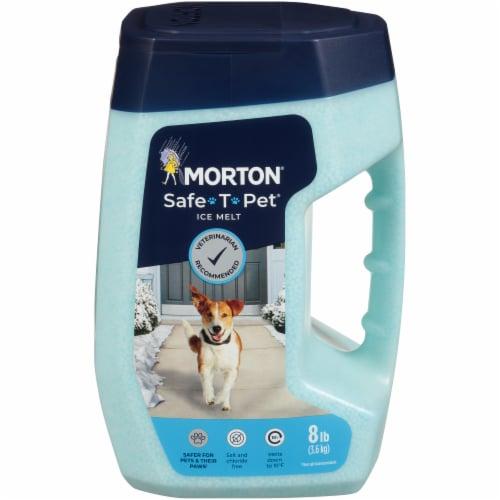 Morton® Safe-T-Pet® Ice Melt Perspective: front