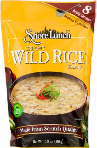 Shore Lunch Creamy Wild Rice Soup Mix Perspective: front