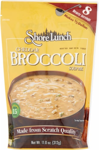 Shore Lunch Cheddar Broccoli Soup Mix Perspective: front