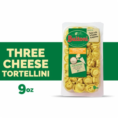 Buitoni Three Cheese Tortellini Pasta Perspective: front