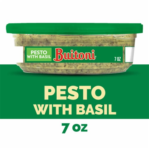 Kroger Buitoni Pesto With Basil Sauce 7 Oz