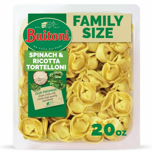Buitoni Spinach & Ricotta Tortelloni Pasta Perspective: front