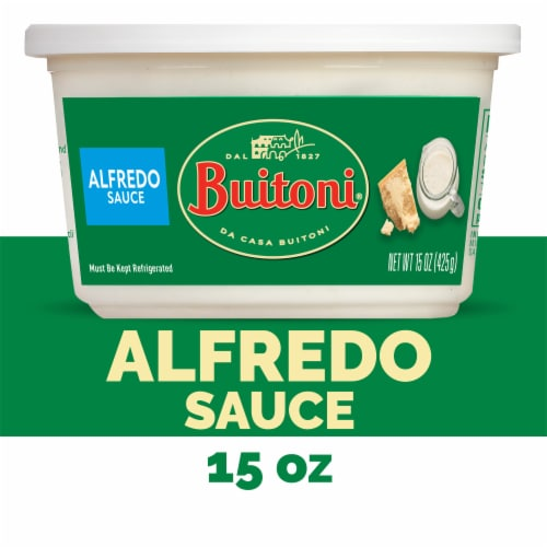 Buitoni Alfredo Sauce Perspective: front