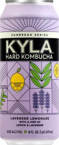 KYLA Hard Kombucha Lavender Lemonade Can Perspective: front