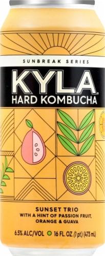 KYLA Hard Kombucha Sunset Trio Can Perspective: front