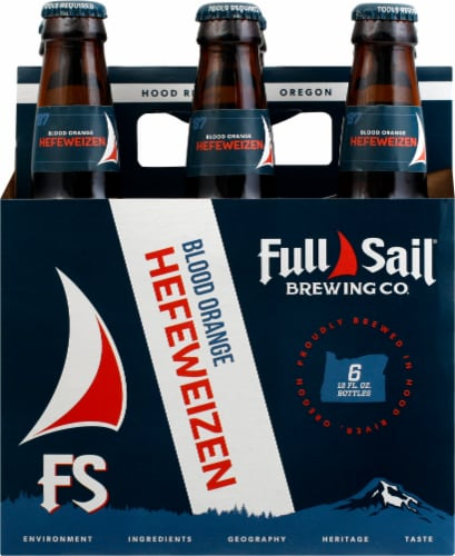 Full Sail Brewing Co. Pale Ale Perspective: front