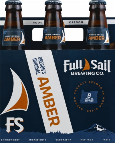 Full Sail Brewing Co. Amber Ale Perspective: front