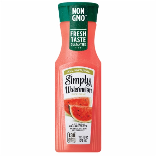Simply Watermelon Juice Drink Perspective: front