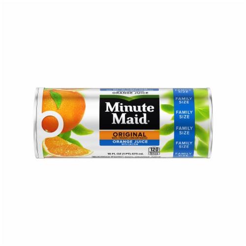 Minute Maid Original Orange Juice with Calcium Frozen Concentrated Juice Perspective: front